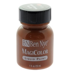 Ben Nye Liquid Face And Body Paint - Warm Brown