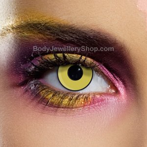 Spooky Mad Hatter Contact Lenses (Pair)