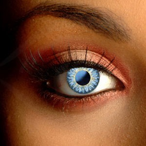 Natural Deep Blue Color Contact Lenses