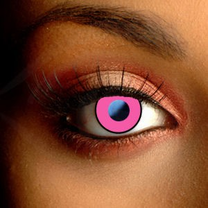 Pink Eye Contact Lenses