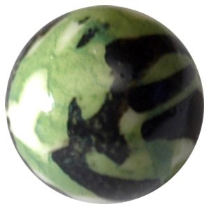 PMMA Threaded Ball - Army Camouflage