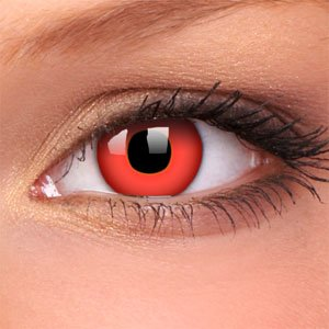 Devil Red Costume Contact Lenses