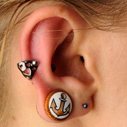 Cartilage Piercing Jewellery Cuffs