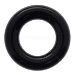UV Smooth Segment Ring - Black