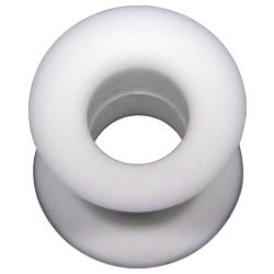Silicone Flesh Tunnel - White