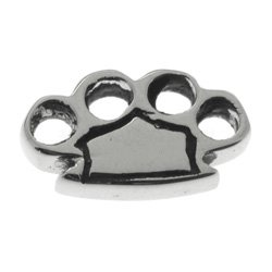 Surgical Steel Threaded Accessory - Knuckle Duster
