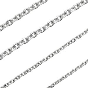 Stainless Steel Bevel Cut Cable Chain