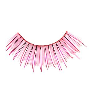 False Eyelashes - Glitter Pink