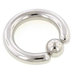 Surgical Steel Ball Closure Ring - 4mm