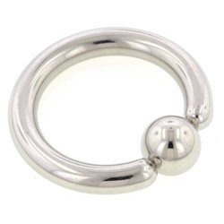 Surgical Steel Ball Closure Ring - 3.2mm