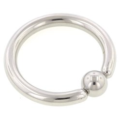 Surgical Steel Ball Closure Ring - 2.4mm