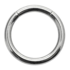 Steel Micro Smooth Segment Ring - 1.2mm