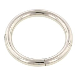 Surgical Steel Smooth Segment Ring - 2.4mm