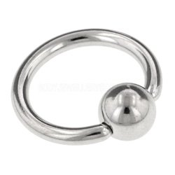 Surgical Steel Ball Closure Ring - 1.6mm