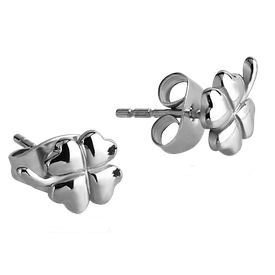 Surgical Steel Clover Ear Studs