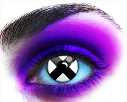 Terror Eyes Cosmetic Contact Lenses - X