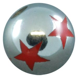 Titanium Threaded Opus Ball - Star Ball