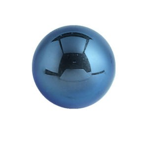 Titanium Threaded Ball - Dark Blue