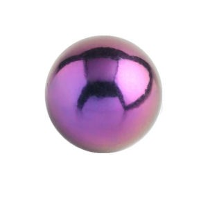 Titanium Threaded Ball - Purple