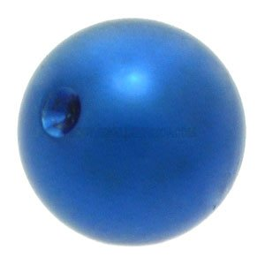 Titanium  Clip-in Ball for Ball Closure Rings - Dark Blue