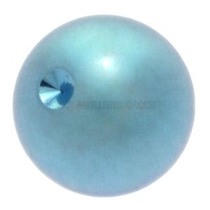 Titanium  Clip-in Ball for Ball Closure Rings - Light Blue