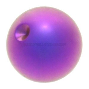 Titanium  Clip-in Ball for Ball Closure Rings - Purple