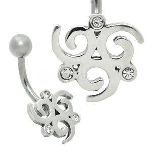 Tribal Belly Bar - Round