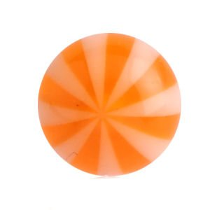 Ultra Violet UV Threaded Beachballs - Orange
