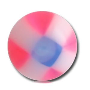 UV Micro Checker Balls - Pink