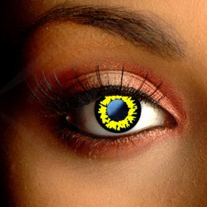 Werewolf Yellow Contact Lenses