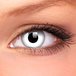 White Out Contact Lenses (Pair)