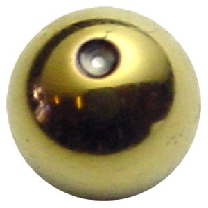 Zircon Gold Clip-in Balls